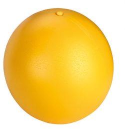 Antistressboll D: 30cm Gul - 89511550 - Häst