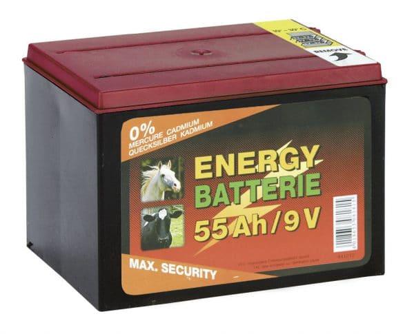 Batteri 9v/55ah - 89508102 - Tillbehör till aggregat