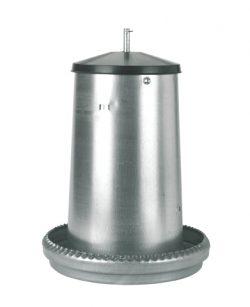 Foderautomat Galv 18kg - 89512020 - Höns