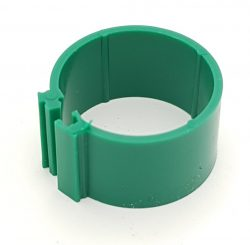 Dvärghönsring Band 12mm Grön