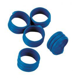 Hönsring Spiral 16mm Blå. 25-P - 89512107 - Höns