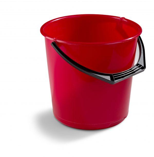 Hink Plast 10l Röd - 89519267 - Hinkar