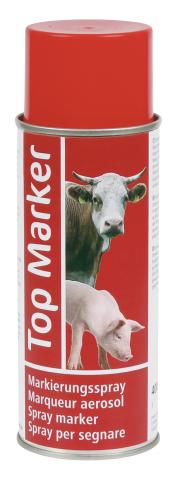 Märkspray 400ml Röd - 89511506 - Märkning