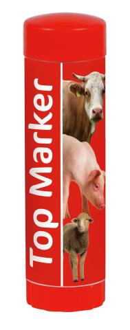 Märkstift Top Marker Röd - 89511510 - Märkning