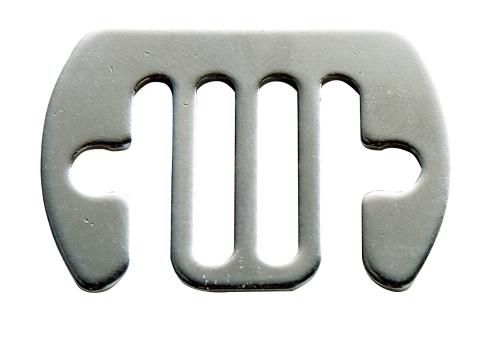Skarvbleck Rostfri 12-20mm