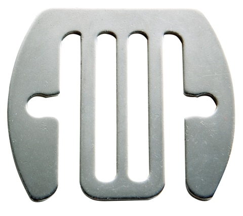 Skarvbleck Rostfri 40mm