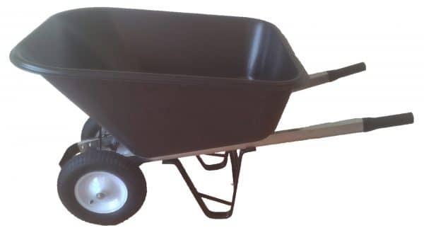 Skottkärra 2-Hjulig Med Plastkorg 280l - 89506380 - Skottkärror