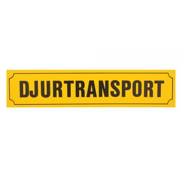 Skylt Djurtransport 900x200mm - 89510461 - Häst