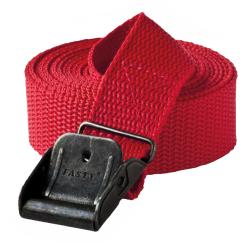 Spännband 25x2500mm Röd