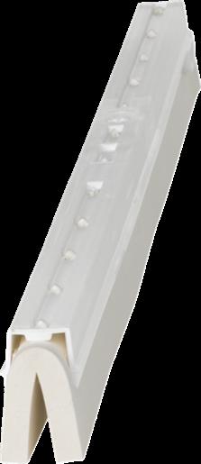 Utbyteskasset 600mm Vit Till Golvskrapa Vridbar - 89502025 - Vikan hygienborstar