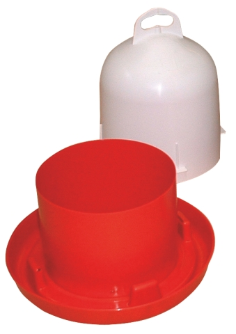 Vattenautomat Plast 6l Med Dubbel Cylinder - 89512005 - Höns